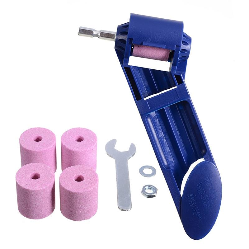 2-12.5mm Drill Bit Sharpener Portable Corundum Grinding Wheel Tool Corundum Resisting Drill Polishing Grinder Wheel Tool