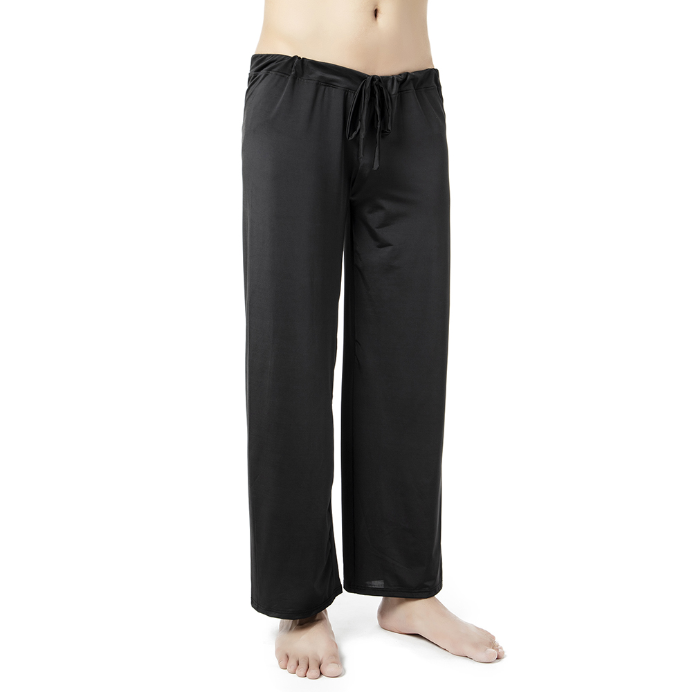 Plus Size 4XL Men's Lounge Pants Sleepwear Comfortable Sleep Bottoms Pajamas Male Home Clothing Sexy Living Hanging Men Pajama