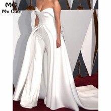 Комбинезон выпускное платье es длинное модное Платье милое без рукавов плиссированные брюки платье для выпускного вечера для женщин индивидуальный заказ