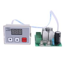 цена на DC 12V 24V 10A PWM Motor Speed Controller Regulator Digital Speed Control Switch A5YD
