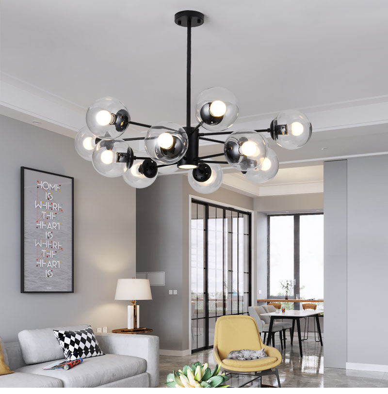Nordic lâmpadas sala de estar lâmpada quarto