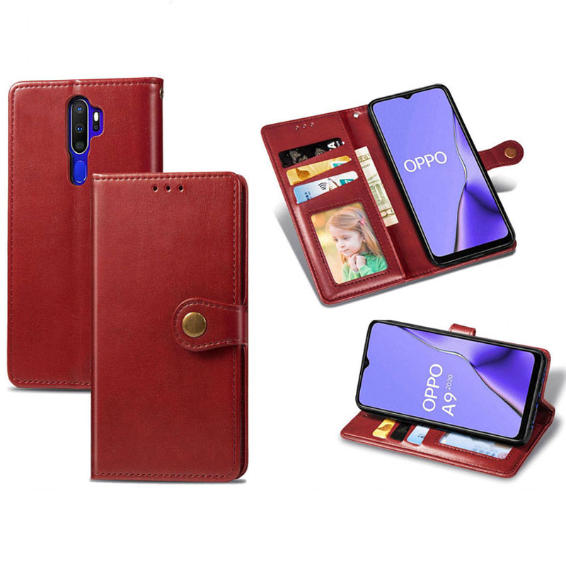 Flip Leather <font><b>Case</b></font> For <font><b>OPPO</b></font> A3S <font><b>A5</b></font> A7 A9 A11X F11 Pro Realme 3 Pro Reno A 10X <font><b>A5</b></font> A9 2020 Flip <font><b>Wallet</b></font> Stand Book <font><b>Case</b></font> image