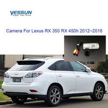 Yessun камера номерного знака для Lexus RX 350 RX 450h 2012~ Автомобильная камера заднего вида помощь при парковке