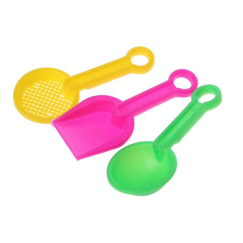 4pcs/set Mini Sand Beach Game Car Rakes Toys Dredging Tool For Children Boys Girls Outdoor Gift Q6PD