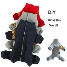 Зимние костюмы для собак, осенняя теплая комфортная Мягкая красная синяя серая одежда для щенков для маленьких животных, Мужской Женский полностью покрытый живот