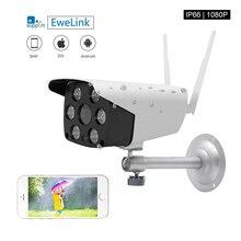 EWeLink Wasserdicht IP Kamera Smart IOT Kamera HD 1080P Outdoor zwei weg audio intercom nachtsicht IR LED kamera