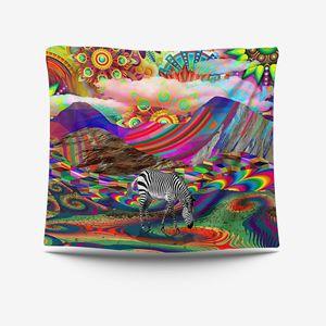 Модный экстрасидный МАНДАЛА ГОБЕЛЕН хиппи для комнаты Настенное подвесное одеяло искусство домашний богемный Декор абстрактный хиппи гоб...