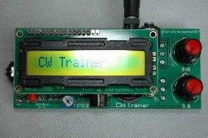 Image 3 - 2in1: CW مدرب و فك * مورس رمز التدريب شريك * كيير مترجم تيار مستمر 9 فولت 12 فولت تردد اللحن: 600 هرتز 1200 هرتز