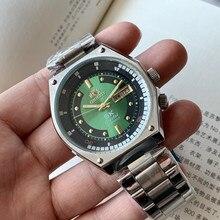 Clássico orient-top marca relógio masculino japonês auto-vento mecânico relógio automático masculino 50m impermeável relogio masculino
