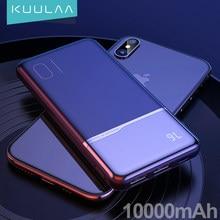 KUULAA – chargeur portable 10000 mah, powerbank 10000 mah, pour xiaomi mi 9t pro 8 iPhone 11 XR Blackview A80 A60