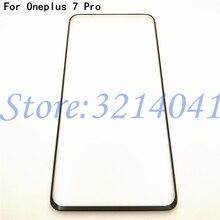 """الأصلي الزجاج الأمامي 6.67 """"ل Oneplus 7 برو واحد زائد 7 برو Oneplus7 برو شاشة تعمل باللمس LCD الخارجي لوحة عدسة استبدال جزء"""
