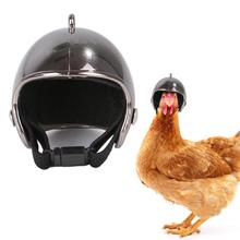 Pet Poultry Funny Toy Chicken Helmet Small Hard Hat Bird Headgear Helmets Protect The Chickens Head
