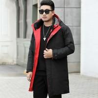plus size 10XL 9XL Men Winter New Hooded Jacket Casual Long Parkas Outdoor Men Fashion Warm Thick Pockets Army Coat Parkas Men