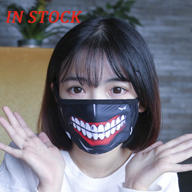 masque anti pollution anime