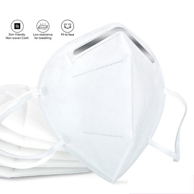 1 3 5 10 50 Pcs masque disposable protective masks mascarias de boca nonwoven 5 layer filte maske safty face mouth mask 1