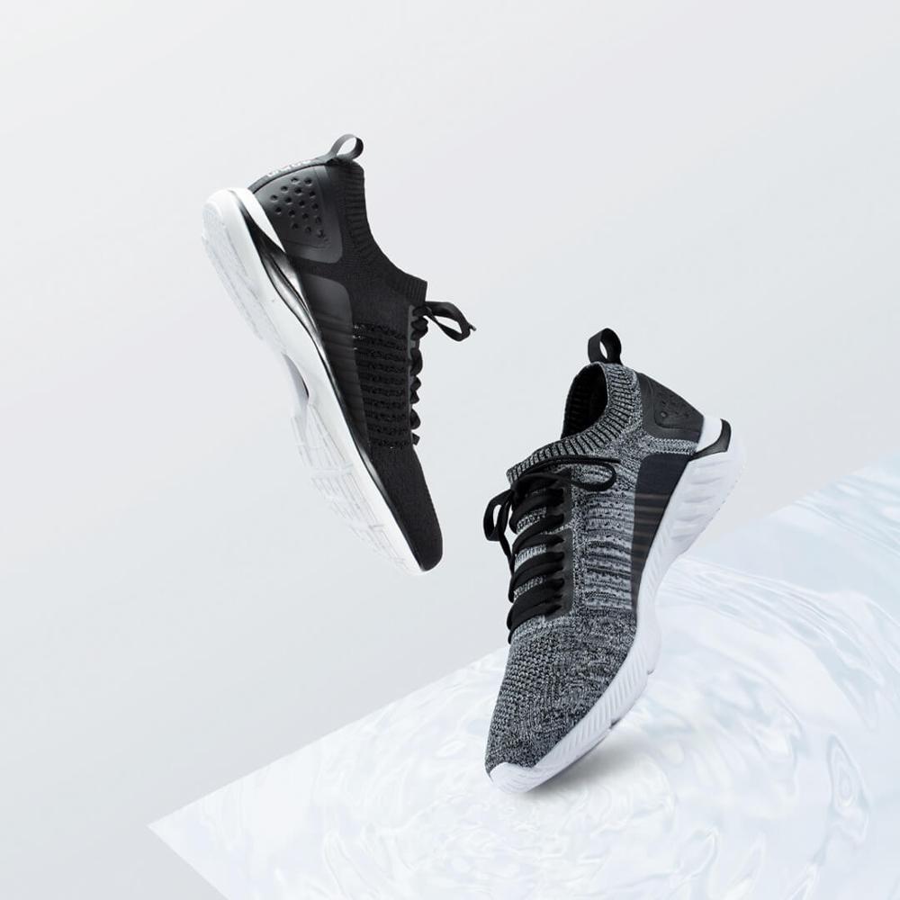 Xiaomi 90 очков кроссовки вязаная обувь износостойкие легкие мягкие стельки вразлёт, плетение дышащая Спортивная обувь для спортзала - 2
