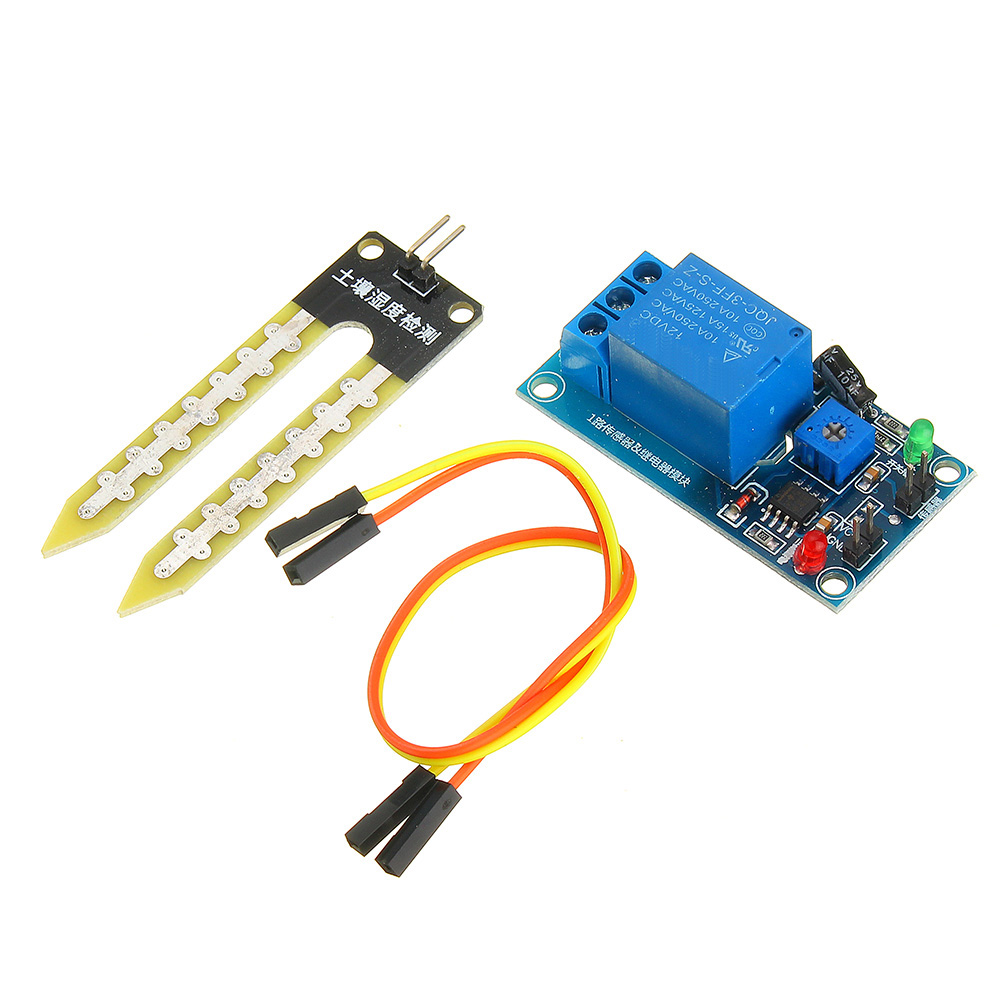 DC 5V 12V Soil Moisture Sensor Relay control Module Automatic Watering of Humidity Starting Switch For Arduino humidity sensors|Sensors|   - AliExpress