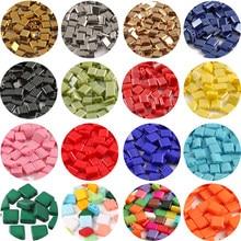 50 pçs/lote 5*5*2mm dois furos contas de semente de vidro miyuki tila solta espaçador contas para fazer jóias diy pulseira colar acessórios