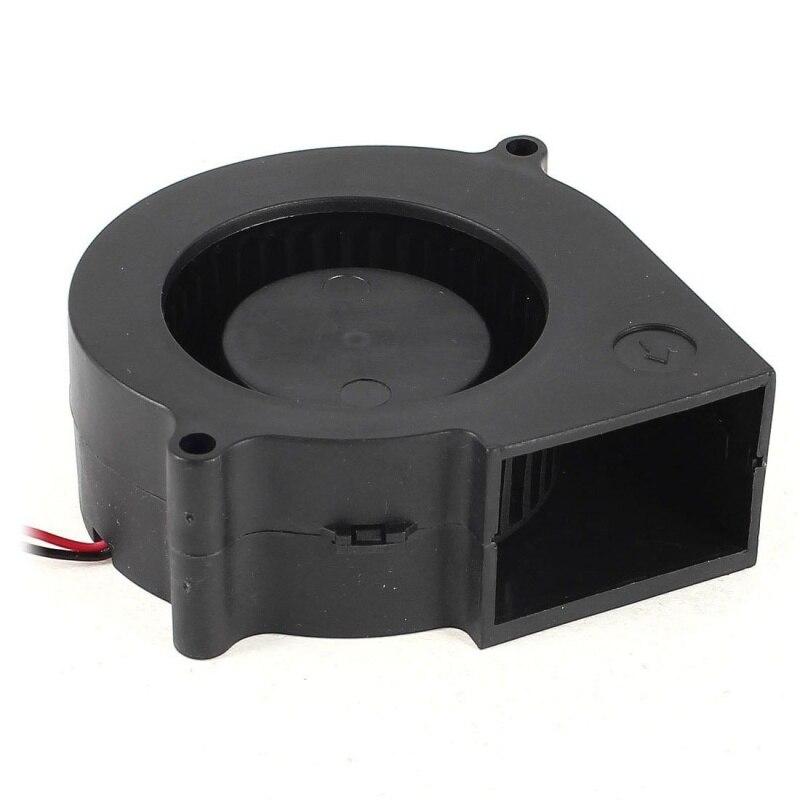 Ventilateur de refroidissement d'ordinateur de ventilateur sans brosse de cc 12 V de 2 broches de 75 mm X 30 mm au détail