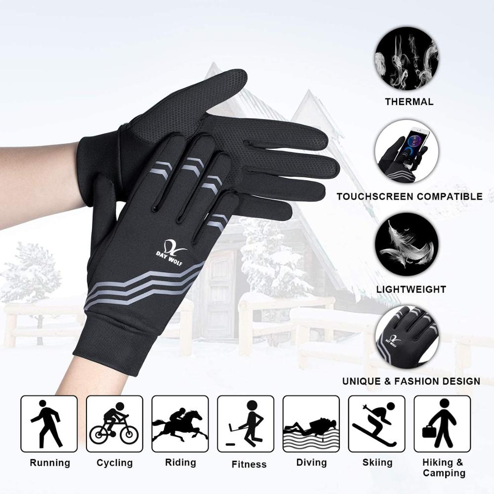 running - Savior Unisex Outdoor Breathable Black Bike Gloves with Touch Screen Function for Running Fitness Bike Cycling Driving