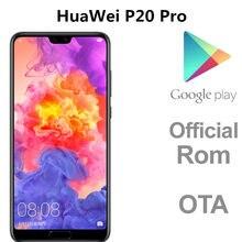 DHL szybka dostawa HuaWei P20 Pro 4G LTE telefon komórkowy Kirin 970 Android 8.1 6.1