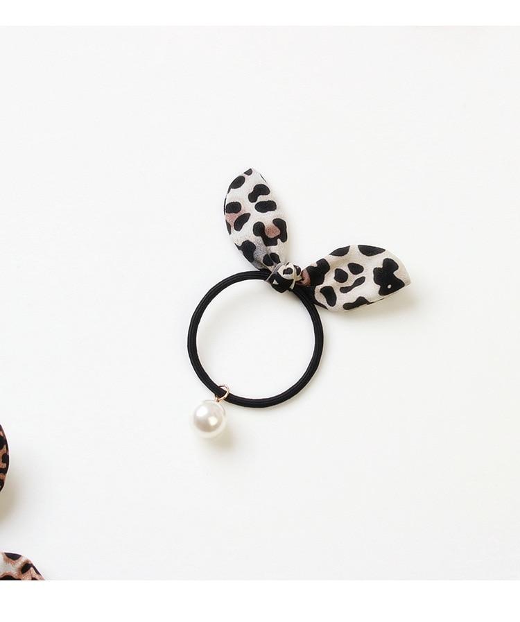 100 pçs lote diy simples leopardo coelho