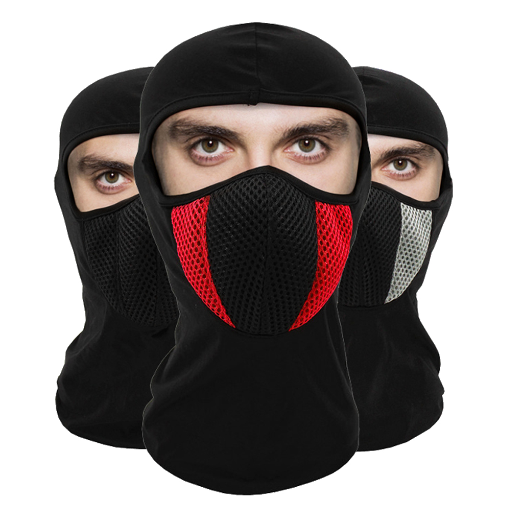 Outdoor Polyester Balaclava-Ski Full Face Dust Mask Winter Thicken Outdoor Face Mask Windproof Warmer Hood