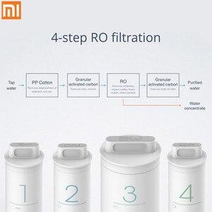 Image 1 - Oryginalny filtr do wody Xiaomi Mi Preposition filtr z węglem aktywnym Smartphone pilot urządzenie domowe czysta woda