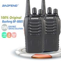 bf 888s שני הדרך 2pcs Baofeng BF-888S Portable מכשיר הקשר UHF שני הדרך רדיו כף יד Ham Radio HF משדר BF 888S רדיו Comunicador Uniden (1)