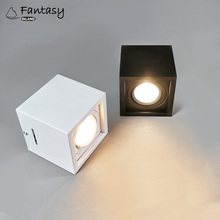 Fantasy Island AC85-265V LED Square Wall Mounted Downlight 5W 7W Free Opening Ceiling-type COB