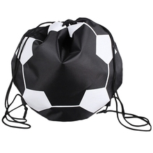 Outdoor Sporting Soccer Net 1 Balls Carry Bag Sports Portable Equipment Football Volleyball Basketball