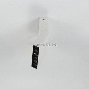 Image 5 - 1 adet LED sıva üstü Downlight spot 12W siyah beyaz dönebilen 3000K 4000K 6000K ev lambası ayarlanabilir tavan Spot ışığı