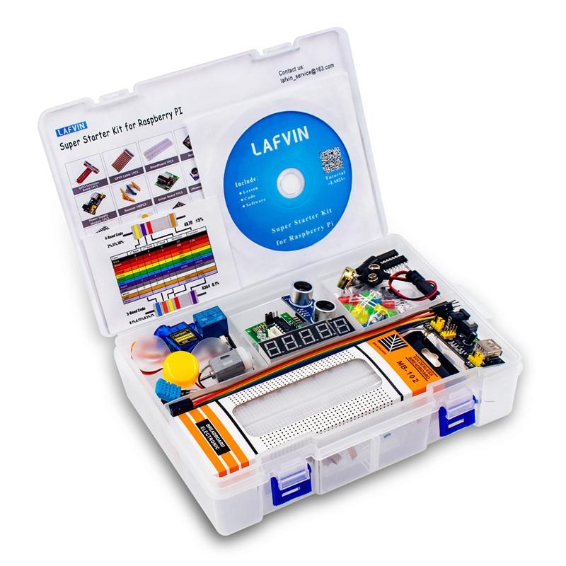 LAFVIN супер стартовый набор для Raspberry Pi, модель 3B + 3B 3A + 2B 1B + 1A + Zero W + Diy Kit