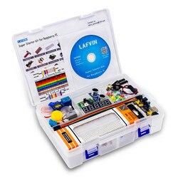 Набор для начинающих LAFVIN Ultimate, Обучающий набор для Raspberry Pi, модель 3B + 3B 3A + 2B 1B + 1A + Zero W + набор «сделай сам»
