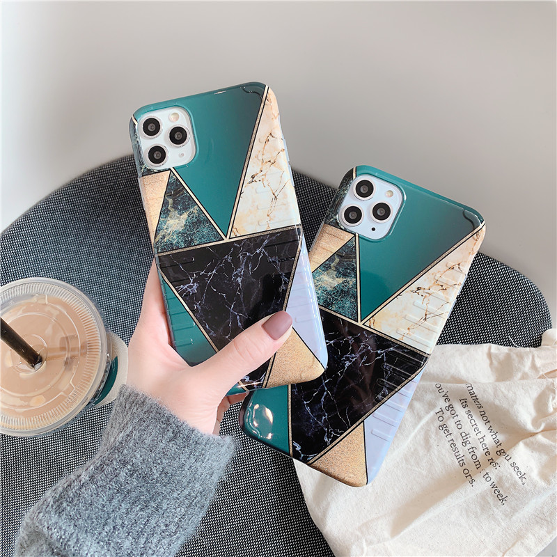 Marble Phone Case For Iphone 11 Pro MAX X Xs Max Silicone TPU Matte Case For Iphone XR 8 7 6 6S Plus Cover Case Fundas