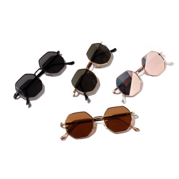 Lux Poly Frame Sunglasses
