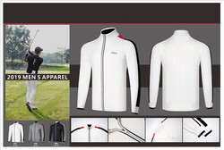 K 2019 männer golf bekleidung männer pullover jacke atmungsaktive golf bekleidung golf bekleidung