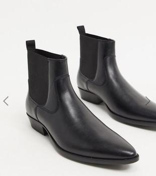 New Fashion Pu Leather Ankle Boots Slip-on Pointed Toe Low Heel Shoes Male Casual Classic All-match Chelsea Boots for Men TV816 vivodsicco men boots genuine leather black pointed toe luxury fashion classic business office formal ankle boots men shoes male