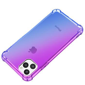 Luxury Shockproof Gradient Soft Phone Case Coque For Apple iPhone 11 Pro XS Max X XR 8 7 6 6S Plus Clear Cover For iPhone11 Case 2