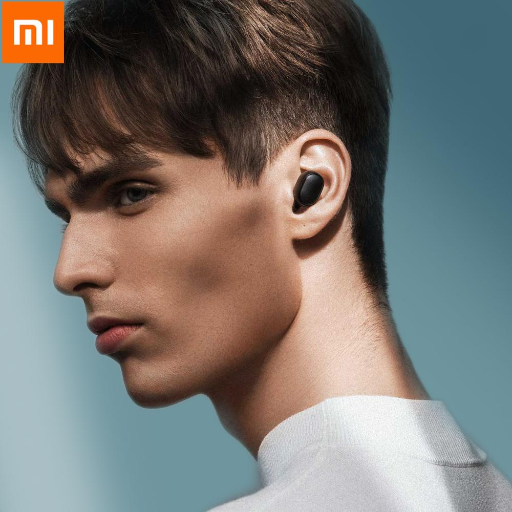 Xiaomi Redmi Airdots Wireless Bluetooth Headset Youth Mi True Wireless Headset Bluetooth 5.0 TWS Air Dots Headset For IPhone XS