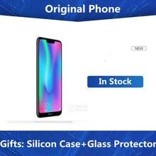 Internacional firmware honra 8c 4g lte telefone celular octa núcleo android 8.1 6.26