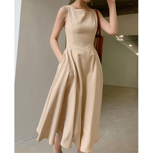 Summer Hepburn 2019 New Elegant Midi Dress Women Fit and Flare Club Sexy Bodycon Party Dresses Female Vestidos