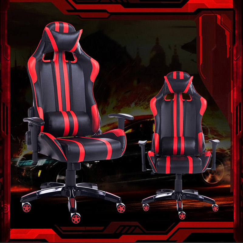 Купить с кэшбэком Office Furniture manager Rotate armrest game chair Artificial leather good quality