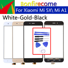 5.5 TouchScreen For Xiaomi MI 5X \Mi A1 Mi5X MiA1 Touch Screen Panel Sensor LCD Display Glass Lens Panel Digitizer Replacement original used xiaomi mi a1 mia1 mi5x mi 5x m5x lcd display touch screen panel digitizer with frame assembly sensor replacement