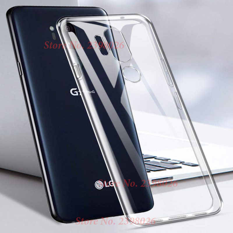Case Voor Lg V20 V30 V40 G6 G7 Fit Q6 Q8 G8S X Power3 K40 K10 K8 2018 K4 2017 g2 G3 G4 G5 Clear Tpu Case Siliconen Cover Capa