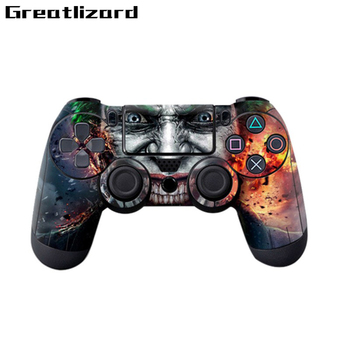 8 style totem surface protection film stickers for SONY Playstation PS4 Dualshock 4 controller skin cool camouflage soft silicone cover case protection skin for sony playstation 4 ps4 for dualshock 4 controller console decals