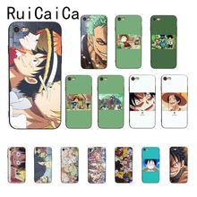 Ruicaica One Piece anime Custom Photo Soft Phone Case for iPhone X XS MAX  6 6s 7 7plus 8 8Plus 5 5S SE XR 11 Pro Max yimaoc hailee steinfeld ross soft silicone case for apple iphone 11 pro xr xs max x 10 8 plus 7 6s 6 plus se 5s 5 7plus 8plus
