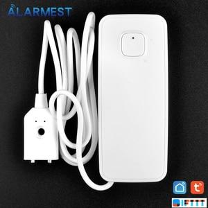 Image 5 - Alarmest Tuya WIFI Water Leak Sensor Protection Alarm Detector control  Tuya Smart Life App Power by Tuya