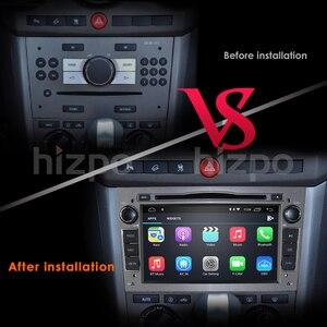 Image 5 - Hizpo Quad Core 2 DIN pamięci RAM:2GB Android 10.0 samochodowy odtwarzacz DVD odtwarzacz dla Opel Astra H Vectra Corsa Zafira B C G samochód GPS Radio stereo 4GWIFI