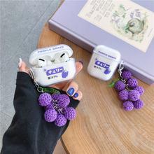 Японский виноградный сок девушка для airpods 1 2 пара силиконовый